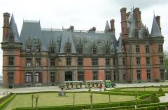 Ancien pavillon de chasse de Moniven -  Château de Trévarez  Finistère (29), France.