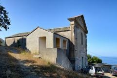 Ensemble paroissial Saint-Sylvestre, -  Centuri, Cap Corse (Corse) - Chapelle de la confrérie des Pénitents de la Sainte-Croix, partie de l'ensemble paroissial inscrit MH