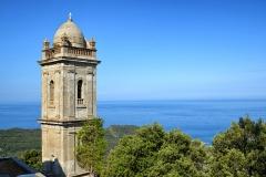 Ensemble paroissial Saint-Sylvestre, -  Centuri, Cap Corse (Corse) - Clocher isolé de l'ensemble paroissial Saint-Sylvestre, inscrit Monument historique