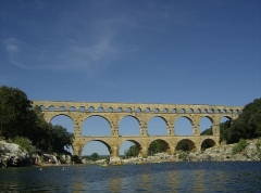 Aqueduc de Nîmes - English: The Pont Du Gard