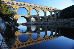 Aqueduc de Nîmes -  731 Pont du Gard (Provence - France)