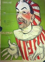 Ancien hospice devenu palais des arts, puis agrandi en lycée, actuel lycée Alphonse Daudet - French painter, poster artist and caricaturist