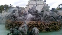 Monument élevé à la mémoire des Girondins - Español: Esplanade des Quincoces