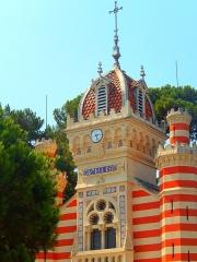 Chapelle Sainte-Marie-du-Cap -  Face avant de la Villa Algérienne