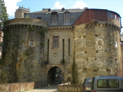 Enceinte fortifiée - English: The Portes Mordelaises in Rennes.