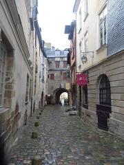 Enceinte fortifiée - English: Porte Mordelaise