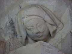 Eglise Saint-Martin -  Sculpture de l'église Saint-Martin de Pouillon