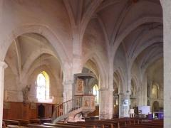 Eglise Saint-Martin -  Vue transversale de l'église Saint-Martin de Pouillon