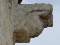 Eglise Saint-Martin -  Modillons de l'église Saint-Martin de Pouillon