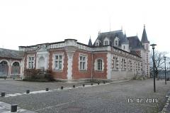 Chocolaterie Poulain - Français:   Usine et château Poulain, Blois, France