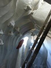 Statue de Notre-Dame de France -  intérieur de la statue Notre-Dame de France,  dernier étage.
