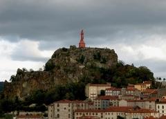 Statue de Notre-Dame de France - Deutsch: Le Puy die Rote Madonna