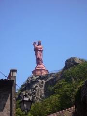 Statue de Notre-Dame de France -  P1020860