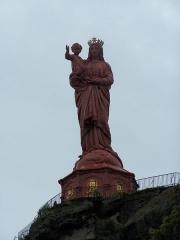 Statue de Notre-Dame de France -  Notre Dame de France, Le Puy-en-Velay, France