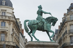 Monument équestre à Jeanne d'Arc - English: Statue of Jeanne d'Arc in Orléans, France