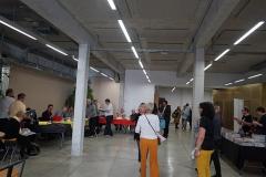 Cellier d'expédition - conférence au Cellier lors du festival Interpol'art.