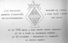 Château Perrier - publié en 1923 dans l'almanach matot-Braine.