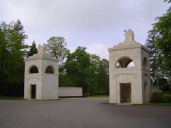 Cimetière américain et la chapelle de Meuse-Argonne - Nederlands: Toegangspoorten