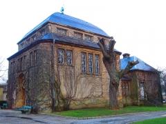 Cimetière de l'Est -  chapelle cimetiere est Metz Plantieres