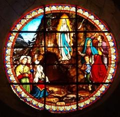 Eglise Saint-Sulpice - Français:   Vitraux de l\'Église Saint-Sulpice d\'Entrains-sur-Nohain (Yonne-France)