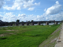Grand pont sur la Loire - Deutsch: La Charité-sur-Loire: Grand Pont