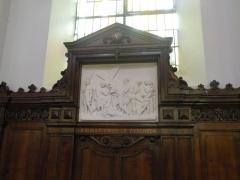 Eglise Notre-Dame du Tilleul ou église de Sous-le-Bois - Français:   chemin de croix de l\'église Notre-Dame-du-Tilleul de Maubeuge