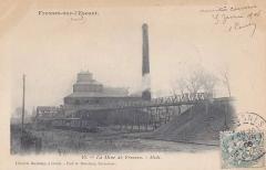 Anciens bureaux de la compagnie de mines de Thivencelles et Fresnes-Midi - English:   Pit Soult n° 1