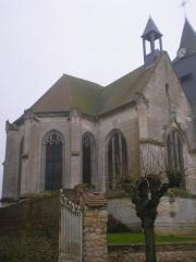Eglise Saint-Lucien - Français:   Chœur de l\'église Saint-Lucien de Litz (Oise).