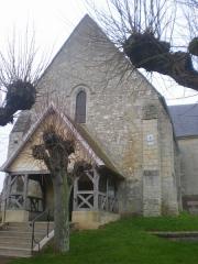 Eglise Saint-Lucien - Français:   Église Saint-Lucien de Litz (Oise), la façade occidentale.