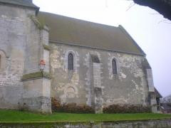 Eglise Saint-Lucien - Français:   Façade nord de la nef de l\'église Saint-Lucien de Litz (Oise).