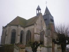 Eglise Saint-Lucien - Français:   Vue nord-est de l\'église Saint-Lucien de Litz (Oise).