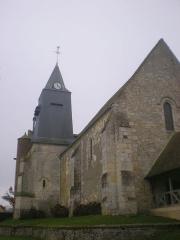Eglise Saint-Lucien - Français:   L\'église Saint-Lucien de Litz (Oise) depuis le nord-ouest.