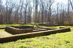 Temple gallo-romain de la forêt d'Halatte - Français:   Temple de la Forêt d\'Halatte