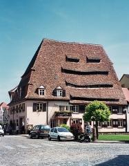Ancien hôpital dit Maison du sel - English:   Wissembourg, the house of the salt