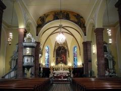 Eglise Notre-Dame de l'Assomption - Français:   L\'intérieur d\'église Notre-Dame-de-l\'Assomptionà Villé