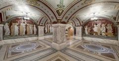 Ancien couvent de la Visitation, ancien hôpital de l'Antiquaille - La crypte des martyrs a été réalisée à la fin du XIXème siècle.