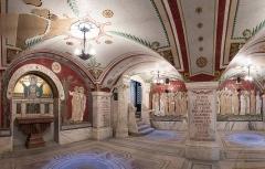 Ancien couvent de la Visitation, ancien hôpital de l'Antiquaille - Crypte des mosaïques de l'Espace culturel du christianisme à Lyon