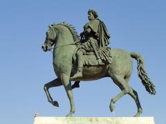 Statue de Louis XIV -  Statue of Louis XIV, Place Bellecour, Lyon, France.