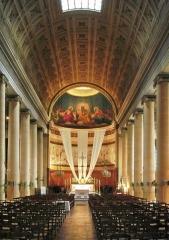 Église Saint-Denis-du-Saint-Sacrement -  Église Saint-Denys-du-Saint-Sacrement, rue de Turenne in Paris- Inside the church