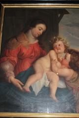 Église Saint-Denis-du-Saint-Sacrement - Español: París, Saint Denis du Saint-Sacrement. Interior. Virgen con el Niño.