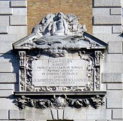 Institut océanographique - English: Saint-Jacques street - Paris