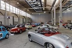 Halle des messageries de la Gare d'Austerlitz -  Porsche 356B 1600 Roadster
