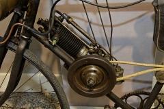 Halle des messageries de la Gare d'Austerlitz -  Clément 1⅓hp Autocycle