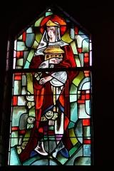Couvent de franciscains dit Saint-François -  Bleiglasfenster in der Kapelle (Seitenschiff) des Couvent des Franciscains in Paris (7, rue Marie-Rose im 14. arrondissement), Darstellung: hl. de:Elisabeth von Thüringen