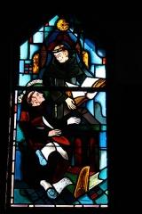 Couvent de franciscains dit Saint-François -  Bleiglasfenster in der Kapelle (Seitenschiff) des Couvent des Franciscains in Paris (7, rue Marie-Rose im 14. arrondissement), Darstellung: hl. Bonaventura und Alexander von Hales