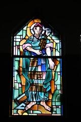 Couvent de franciscains dit Saint-François -  Bleiglasfenster in der Kapelle (Seitenschiff) des Couvent des Franciscains in Paris (7, rue Marie-Rose im 14. arrondissement), Darstellung: hl. Josef