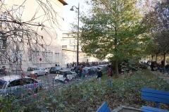 Square Saint-Lambert - Français:   vue du lycée Camille-Sée