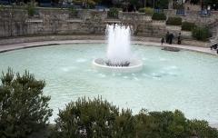Square Saint-Lambert - Français:   Jeux d\'eau