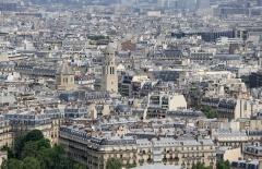 Eglise Saint-Pierre de Chaillot -  Views from the Eiffel Tower.