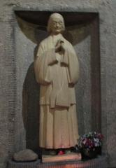 Eglise Saint-Pierre de Chaillot - Français:   Statue du Curé d\'Ars à Saint-Pierre-de-Chaillot (Paris VIIIe)